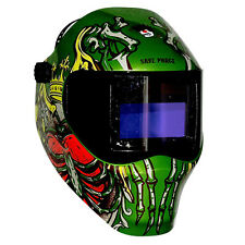 New Save Phace RFP Welding Helmet 40VizI2 40sq inch lens 2 Sensor - Dead King