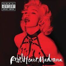 MADONNA REBEL HEART LIMITED SUPER DELUXE EDITION 25-TRACK Inc.  REMIXES