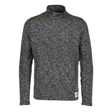 Aqua Products Men's Funnel Neck Charcoal Mid Layer Top Half Zip SALE *All Sizes*