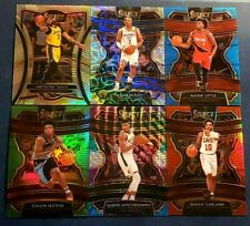 2019-20 Select Basketball Prizm Parallels Silver Scope Tri Color Red You Pick