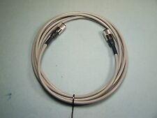 RG-8X COAX CABLE JUMPER 9 FT SEALED PL-259s USA MADE PROFESSIONAL CB HAM RADIO