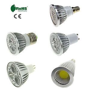 E27 E14 GU10 MR16 LED Spotlight Bulb 3W 4W 5W 6W 9W 12W 15W SMD COB Lamp Light K