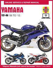 2013 Yamaha YZF R6 Haynes Online Repair Manual - 1 YR Access