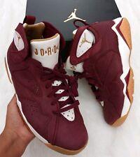 8 MEN'S Nike Air Jordan Retro VII 7 C&C Cigar Team Red Gold Gum Sole 725093 630