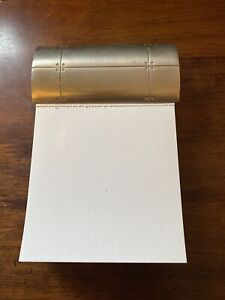 TIFFANY & CO STREAMERICA Note Pad Sterling Silver .925% Stamped