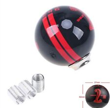 Car Manual Auto High Quality Black/R Gear 6Speed Refit Cobra Resin Shift Knobs