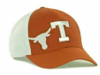 Texas Longhorns Top of the World NCAA Orange White Flex fit Cap Hat