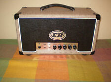 EB Classic Series British Invasion 25 watt all valve hand made guitar amp head.
