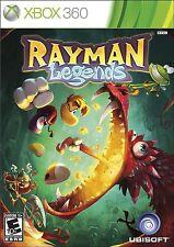 Rayman Legends (Microsoft Xbox 360, 2013) NEW