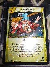 HARRY POTTER TCG QUIDDITCH CUP OUT OF CONTROL 19/80 RARE FOIL ENGLISH MINT