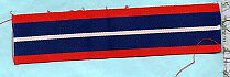 MALAYSIA - SARAWAK PNGS  MEDAL RIBBON FULL-SIZE  5 INCHES (13cm)
