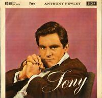 ANTHONY NEWLEY tony LK 4406 uk decca 1961 LP PS EX/EX