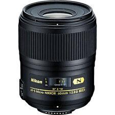 NIKON AF-S Micro Nikkor 60mm f/2.8 ED Macro Lens D500 D7500 D7200 D5600 D3500