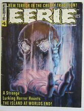 Eerie # 4 VG/FN Warren Magazine Horror!