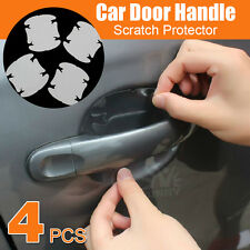 4 pcs Car Door Handle Paint Scratch Protector Stickers Transparent Film Vinyl