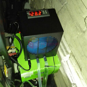 Aquarium Fish Tank Chiller Cooling System Cooler Fan and Heater Thermostat 25L