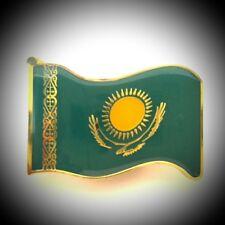 Fridge Magnet Metal Kazakhstan Flag Excellent Souvenir For Collection Gift M666
