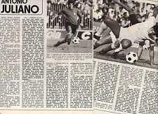 TIA11 Clipping-Ritaglio del 1972 Antonio Juliano Napoli