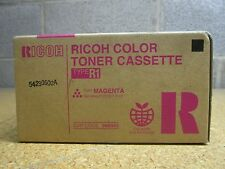 LOT OF 2 GENUINE RICOH 888342 MAGENTA COLOR TONER CASSETTE TYPE R1