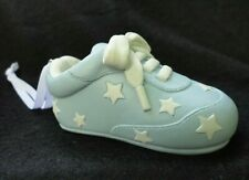 NIB Blue Baby Boy Shoe Things Remembered Engravable Christmas Ornament SKU356276