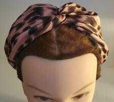 Macy's Pink Leopard Headband