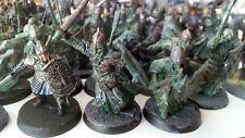 Paquete grande/Colección De El Señor de los anillos Warhammer figuras Inc. Metal.