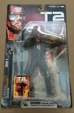 """Movie Maniacs 4 Terminator 2 Judgment Day """"T-800"""" Action Figure 2001"""