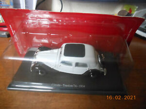 """EDITIONS ATLAS """"PASSION CITROEN - 2005"""" : TRACTION 7A (1934) - 1/43 - NEUF"""
