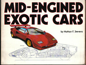 Mid-Engined Exotic Cars Europa Miura Mangusta Dino Pantera Urraco Bora Stratos +