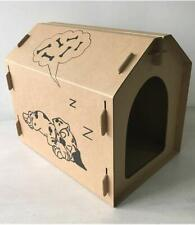 Seny Cardboard Dog House Pet House Tower Condo Apartment W28*D20*H24 inches