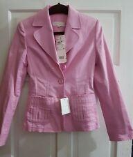 Escada Pink Blazer Eur 34 UK 8 Brand New career women Jacket Made in Italy