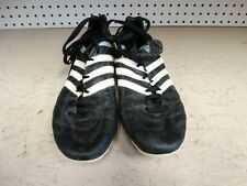 """Adidas Soccer Shoes Prb 698001 Womens Size """"9.5"""" Black.See Pics.Free Shipping"""