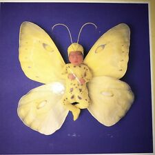 Anne Geddes Yellow Butterfly Baby Picture Jigsaw Puzzle 500 Piece Purple