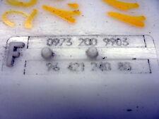 02 PEUGEOT 206 QUICKSILVER 1.4 INSTRUMENT CLUSTER SPEEDO 9645847880