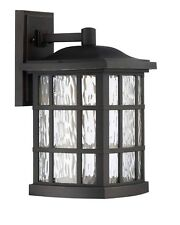 "Quoizel Stonington 15.5"" 16W Large Bronze Outdoor Wall Latern SNNL8409PN"