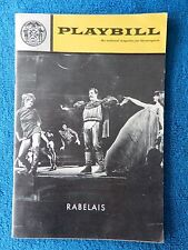 Rabelais - New York City Center Theatre Playbill - May 1970 - Velerie Camille