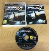 SHIFT 2 UNLEASHED Limited Edition ~ PAL PlayStation 3 ~ VGC, COMPLETE & TESTED ~