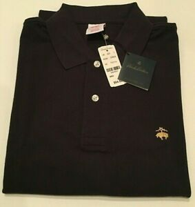 MEN BROOKS BROTHERS 1818 PERFORMANCE POLO SHIRT ORIGINAL FIT - MEDIUM NWT