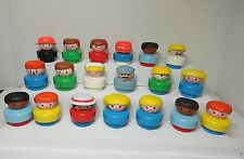 Little People Fisher Price Chunky Figures 1990 Mexico Bride Girls & Boys Lot 19