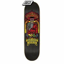 "Santa Cruz Pro Guzman Dine With Me Skateboard Deck Black 8.27"""