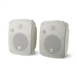 """Pyle PDWR54BTW 5.25"""" 600W Bluetooth Waterproof Powered Outdoor Speakers (Pair)"""