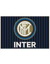 Bandiera Inter  originale nuovo logo ufficiale 70 x 40 cm nerazzurra  strisce