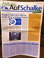 FC Schalke 04 - Zeitung auf Schalke #17 / 03/2004 Magazin zum Bau der Arena /410