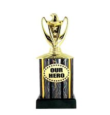 Our Hero Trophy, Eagle Series- Champion- First- Acclaim- Recognition- Best
