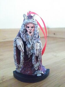 """Fright Crate Exclusive Krampus 4"""" Holiday Ornament - Serial Resin Co."""