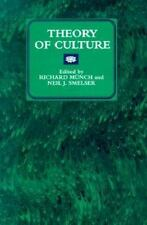 Theory of Culture (New Directions in Cultural Analysis)