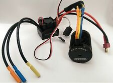 540 3930 KV Brushless Motor & ESC Combo Set 1/10 RC Car Fits Tamiya HPI HSP
