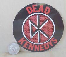 """Dead Kennedys Dk Icon Peel & Stick Sticker 4 """" X 4 """""""