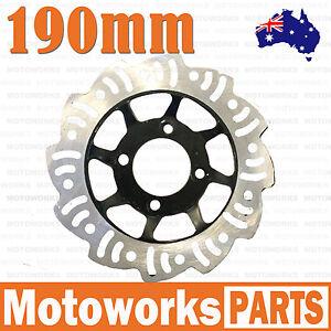 190mm Brake B Caliper Disc Disk Rotor PIT PRO Trail Quad Dirt Bike ATV Buggy