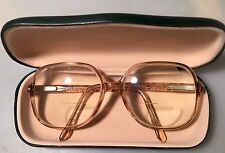 Vintage Luxottica Calusia Eyewear~Made In Italy~Glasses, Frames~ With Case.